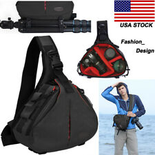 K1 Sling Shoulder Camera Bag Backpack For Canon Nikon Sony Leica Pentax SLR DSLR