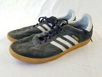 Adidas Mens Samba Classic Black Athletic Lifestyle Casual Shoes Size 13 used