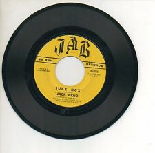 JACK RENO 45 RPM Record JUKE BOX / HOW SWEET IT IS (TO BE IN LOVE WITH YOU)