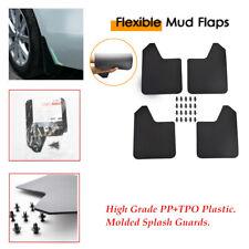4pcs/set Car Fender Mud Flaps Splash Guards For Car Pickup Van sporty exterior
