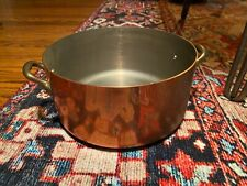 French Copper Style Dutch Oven Pot - Medium Sized