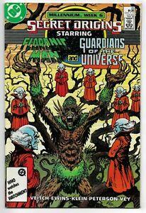 Secret Origins #23 DC Comics 1988 VF+ Floronic Man & Guardians of the Universe