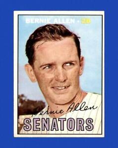 1967 Topps Set Break #118 Bernie Allen EX-EXMINT *GMCARDS*