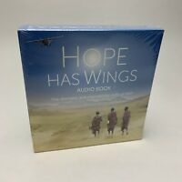 Hope Has Wings - The Mission Aviation Story by Stuart King Audio Book CD MAF New