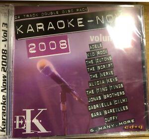 Easy Karoake Classic Hit Singles 24 Tracks cd Cd+g Adele, Alicia Keys