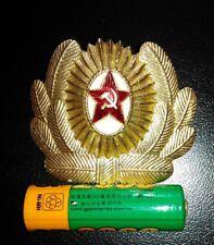 收藏品: 歷史紀念品 徽USSR Army Hat Badge