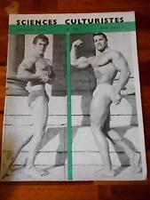 SCIENCES CULTURISTES bodybuilding muscle magazine ARNOLD SCHWARZENEGGER 10-70