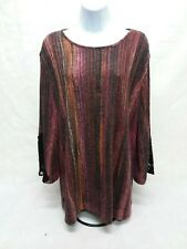 Women's Large BonWorth 3/4 Sleeve Blouse