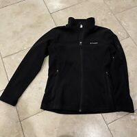 Columbia Fleece Zip Up Front Jacket-Size L Woman's