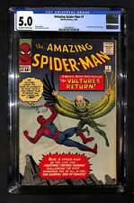 AMAZING SPIDER-MAN # 7 CGC 5.0 - Second Appearance of the Vulture (IK)