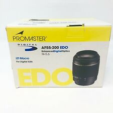 ProMaster Digital AF55-200mm EDO F4/5.6 LD Macro for Digital SLRs for NIKON AF