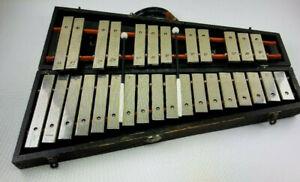 vintage DEAGAN SPECIAL No. 41 Glockenspiel (with wood case) Patented 1908