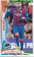 072 GERARD PIQUE ESPANA FC.BARCELONA STICKER 100 CRACKS JUGON 2005-2014 PANINI