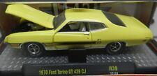 1970 FORD 70 TORINO YELLOW GT 429 CJ COBRA 5,880 17-53 M2