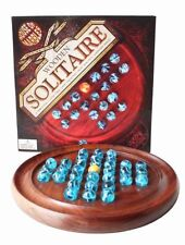 Wooden Solitaire Vintage Board & Traditional Games