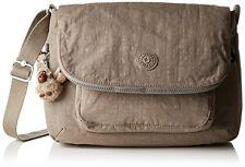 Genuine KIPLING GARAN Shoulder Bag - Warm grey: Handbag -Casual bag -School bag
