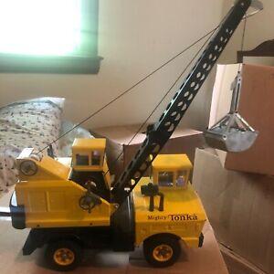 "gorgeous Vintage 1965 mighty Tonka crane #2940 original excellent condition 25"""