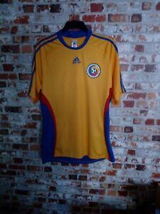 Adidas Short Sleeve Romania Football Shirt. Pre Owned. Size L.