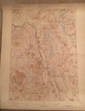 USGS Topographic Map 1897 Data NORTH CREEK QUADRANGLE NEW YORK