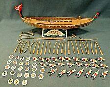 Vintage AURORA VIKING SHIP Built-up Model kit Very Clean Assembly
