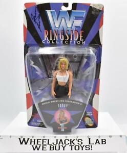 """Sunny 7"""" AUTOGRAPHED WWF Ringside Series 1 MOSC 1997 Jakks Wrestling Figure"""