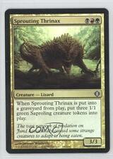 2008 Magic: The Gathering - Shards of Alara 197 Sprouting Thrinax Magic Card 0b5