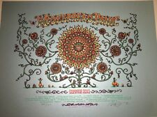 Marq Spusta Widespread Panic Summer Tour 2013 Signed Numbered Poster Art Print