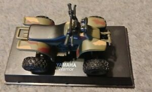 2004 New Ray Die Cast 1:32 Scale Yamaha Warrior Camo ATV / 4 Wheeler - No Case
