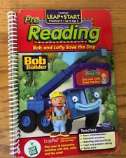 Bob and Lofty Save the Day (Bob the Builder) LeapPad Pre-Reading Book & Cartridg