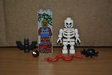 LEGO SKELETON Minifigure/Minifig, Scorpion, RARE Piece Lot!