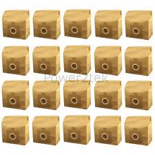 20x H63, H58, H64, U59 Sacchetti per aspirapolvere per Hoover spazio libero hv5206xp1 tcpw20