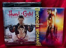 HANSEL AND GRETEL WITCH HUNTERS - 4K UHD/Blu-Ray * Import Region Free +Art Cards