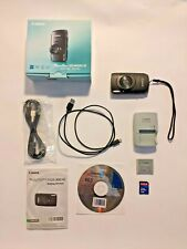 canon powershot SD4000 IS Digital Elph 10MP WITH ORIGINAL BOX & 2GB memory card