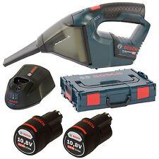 Bosch Akku-Handsauger 2V Professional + 2x 2,5AH Akku + Ladegerät + L-Boxx Gr. 1