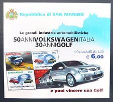 SAN MARINO 2004 Motor Car Booklet SB7 NB626