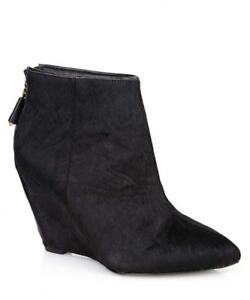 Juicy Couture Women's Wedge Boots Black Sz 4uk