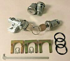 1972-1976 Impala, Caprice, Bel Air & Biscayne Door/Glove/Trunk Lock Set- GM keys
