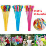5-pack (555 Premium Water Balloons) Bunch O Instant Already Tied Self-Sealing