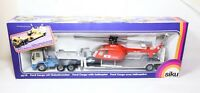 Siku 3719 Ford Cargo With Helicopter REGA In Its Original Box - Mint RARE