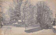 Herefordshire - BREDWARDINE ???, Street Scene in the Snow. Real Photo
