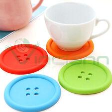 Kit 4 sottobicchiere sotto poggia bicchieri bottone bottoni bicchiere tazza
