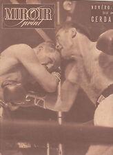 MIROIR Sprint du 24 septembre 1948  Numero Souvenir Match Cerdan Zale