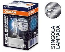 66140XNB LAMPADA XENON D1S OSRAM NIGHT BREAKER - 4350K - 1 PEZZO