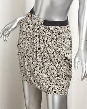 SUPERTRASH Black and White Floral SISSY SKIRT sz. 2-34 NEW
