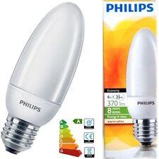 4x 8W PHILIPS basse consommation économie d'énergie LCF Ampoule type bougie
