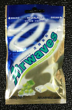 3 packs 60x Pcs Wrigley's AIRWAVES Chewing Gum ICE GRAPE FLAVOUR 84g Wrigleys