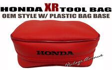 HONDA XR250L XR250R XR350R XR600R XR650L TOOL BAG POUCH [197-6]