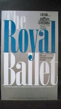 Royal Ballet Window Card Frederick Ashton / John Lanchbery 1960s