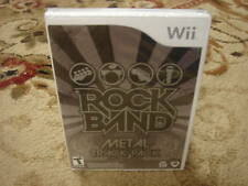 Rock Band Track Pack: Metal  (Wii, 2009)