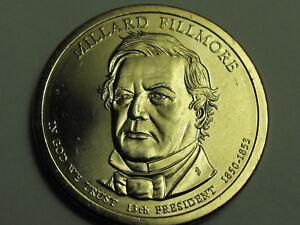 2010-P Millard Fillmore Presidential Golden Dollar Coin